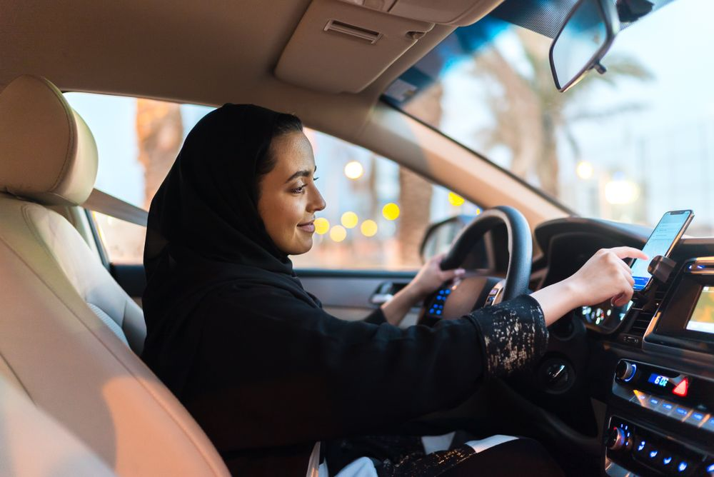 Uber Saudi Arabia Women