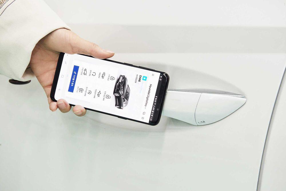 Hyundai Smartphone Key