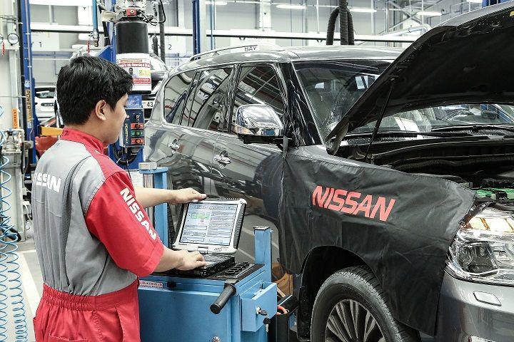 Nissan Free Check Up Dubai