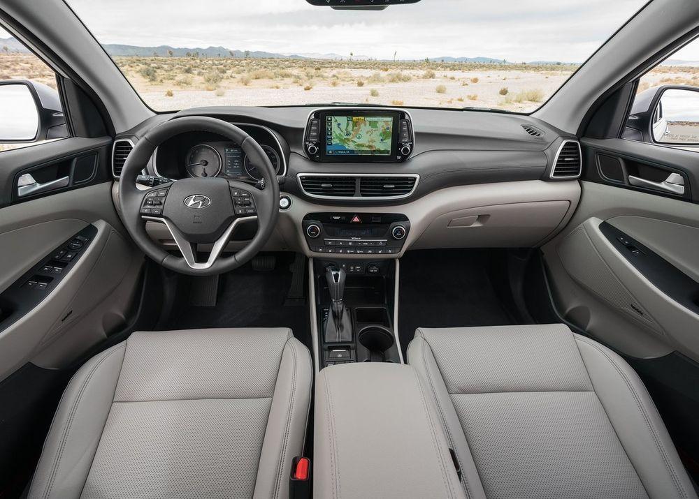 Hyundai Tucson 2019 interior