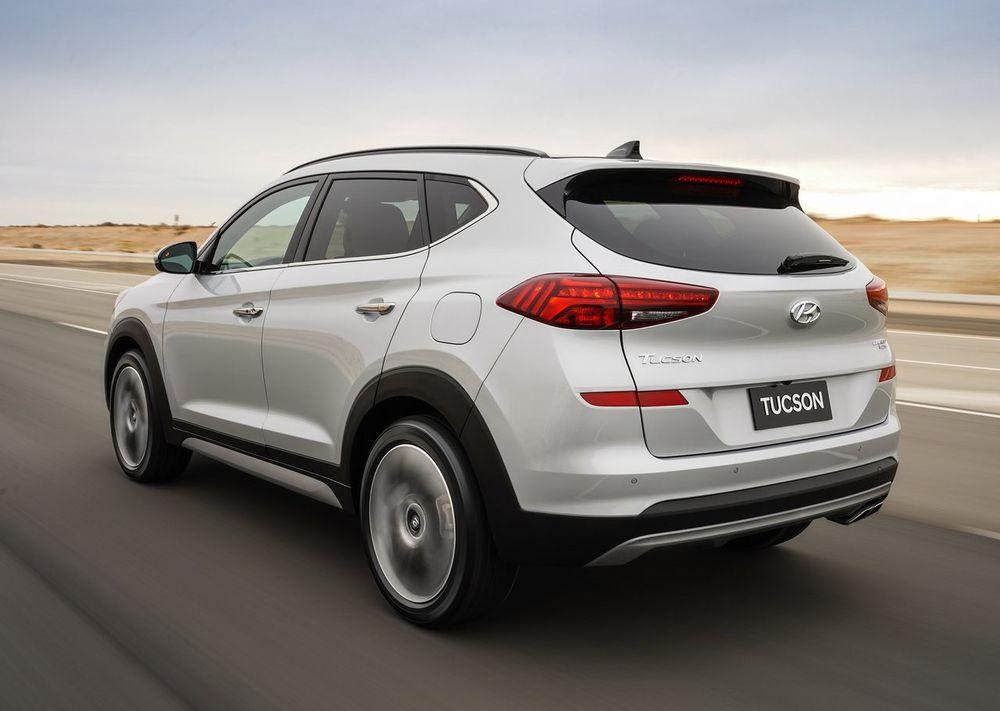 Hyundai Tucson 2019 Rear