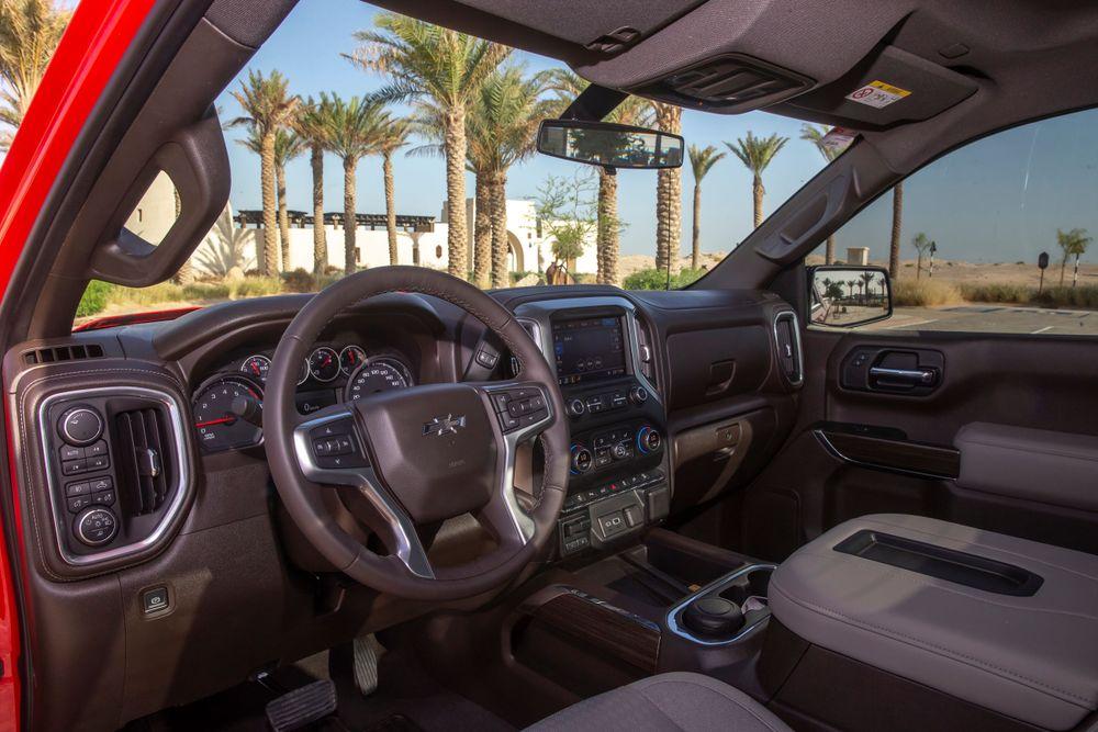 Chevrolet Silverado 2019 Interior