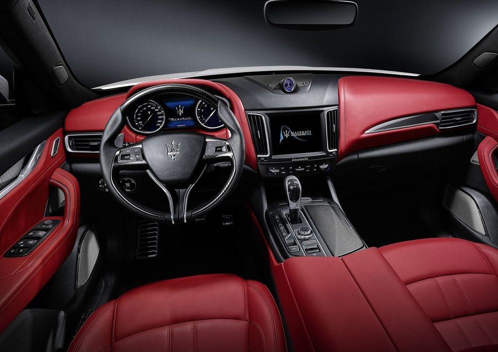 Maserati Levnate Interior
