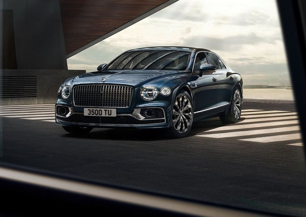 Porsche Certified Pre Owned >> All new 2020 Bentley Flying Spur breaks cover | Saudi ...