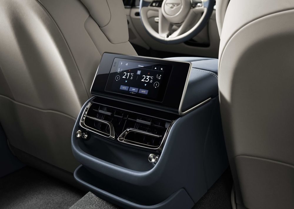 Bentley Flying Spur 2020 Rear Seats
