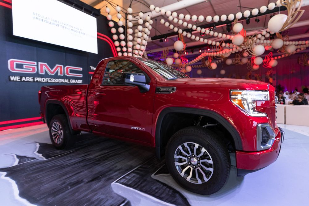 GMC Sierra 2019 Side