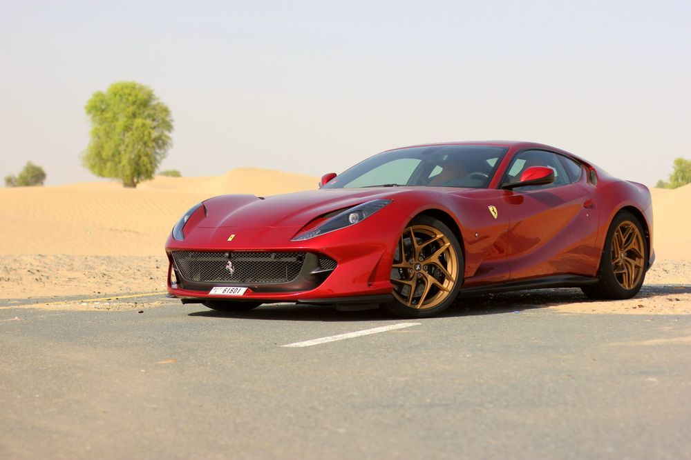Ferrari 812 Superfast side