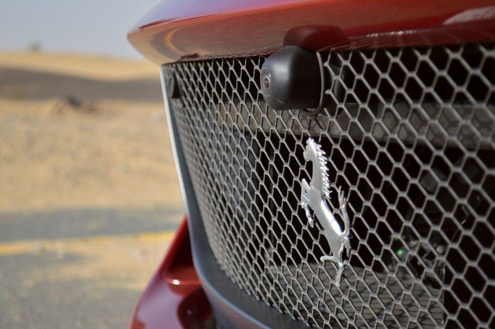 Ferrari 812 Superfast grille