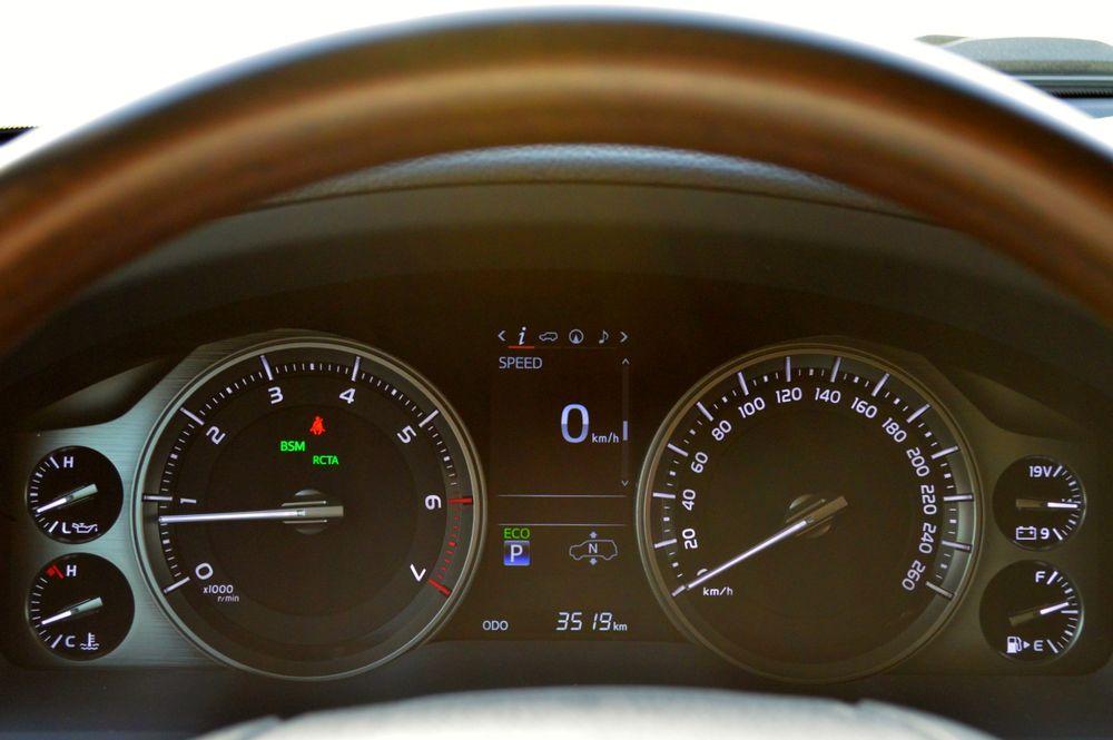Toyota Land Cruiser 2019 Interior