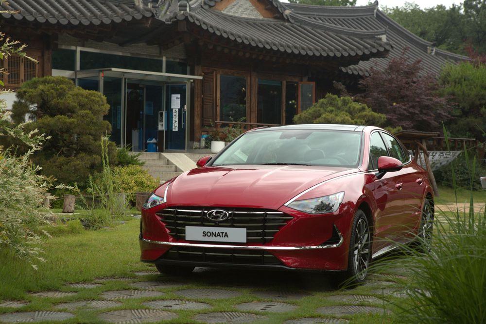 Hyundai Sonata 2020 Front