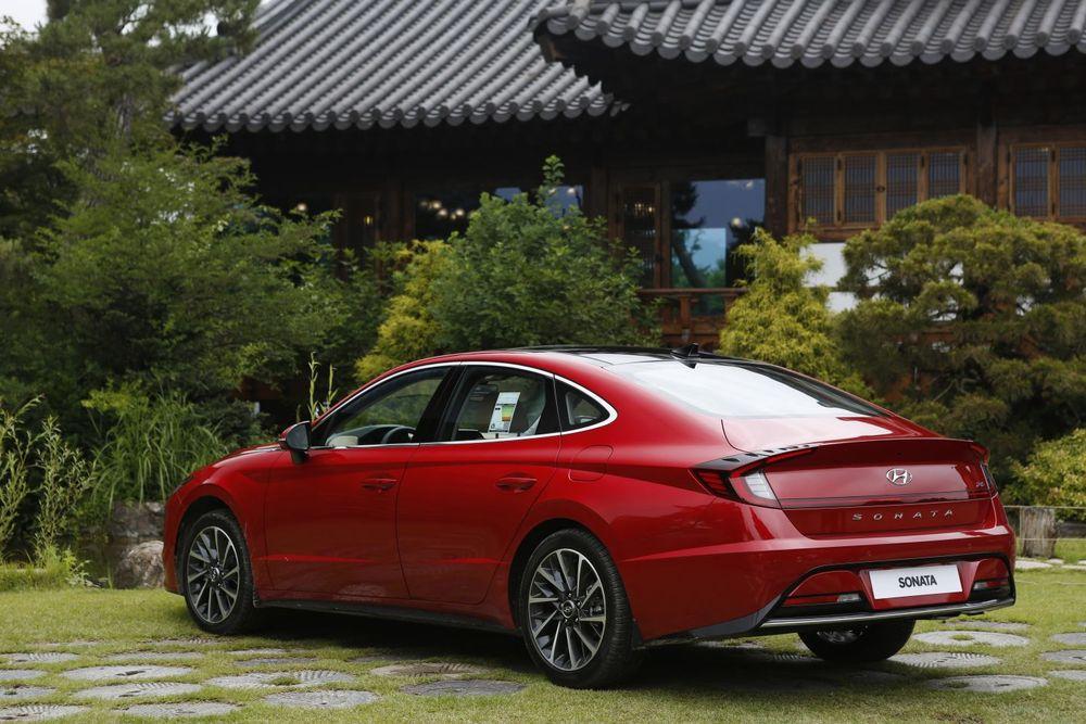 Hyundai Sonata 2020 Rear