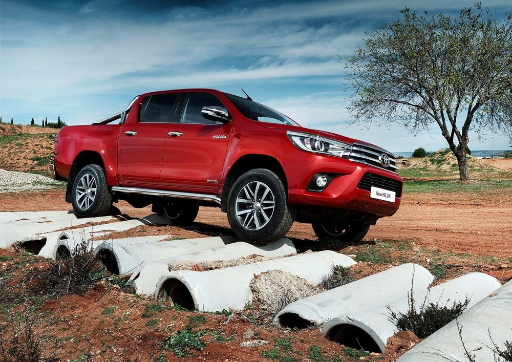 Toyota Hilux 2019 Side