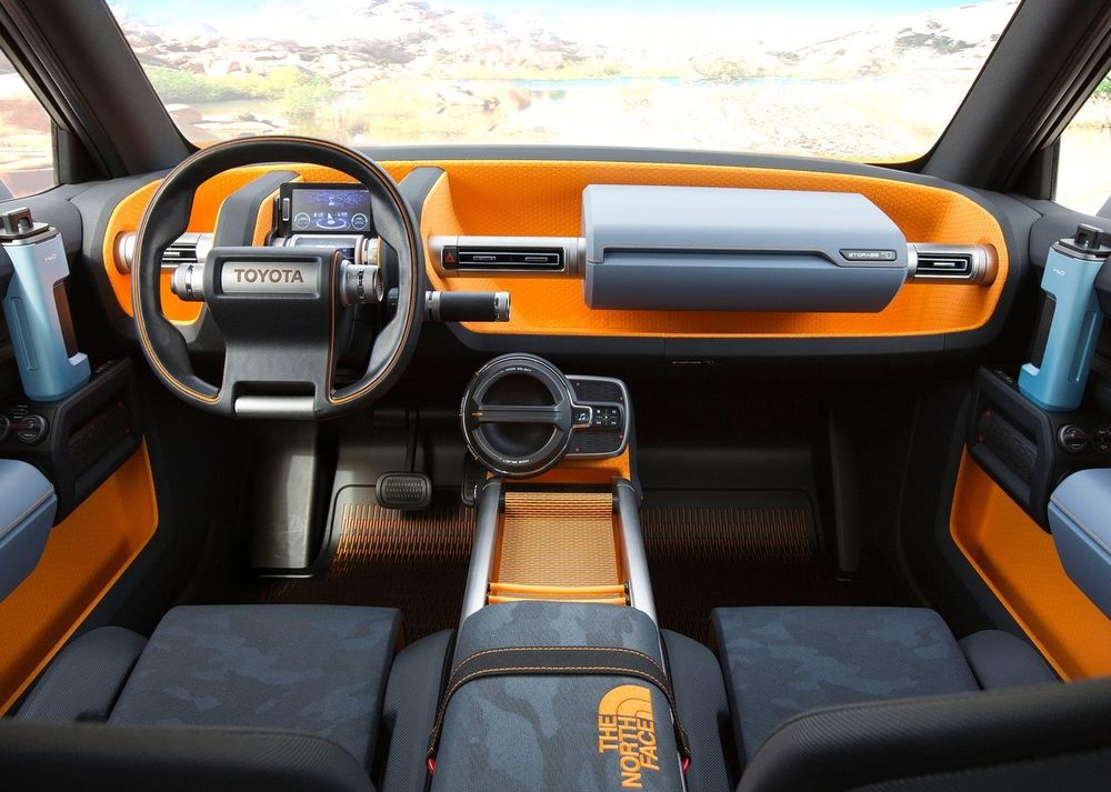 Toyota FT-4X Interior