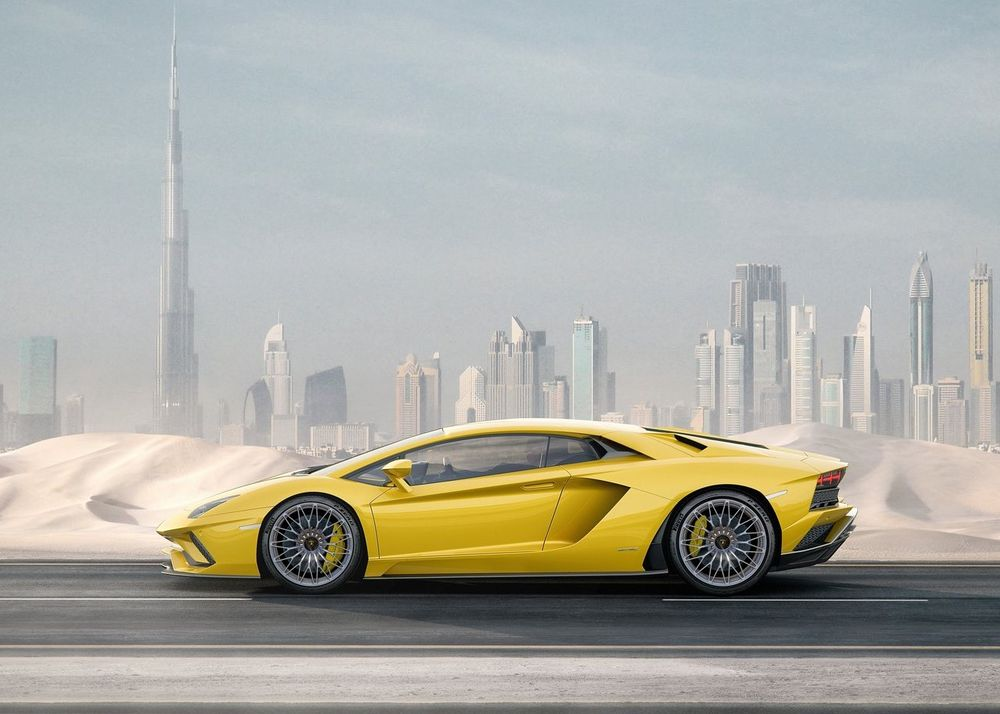 Lamborghini Aventador Side