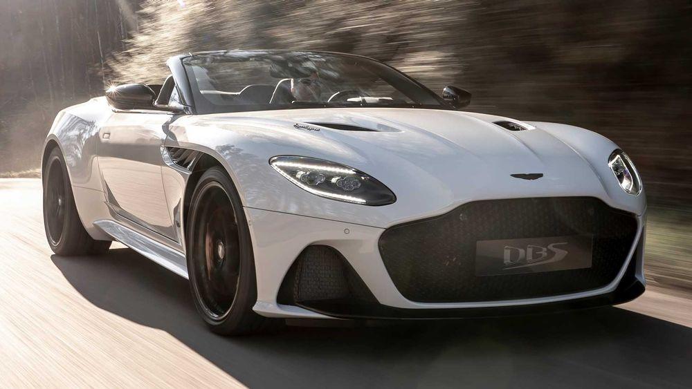 Aston Martin DBS front