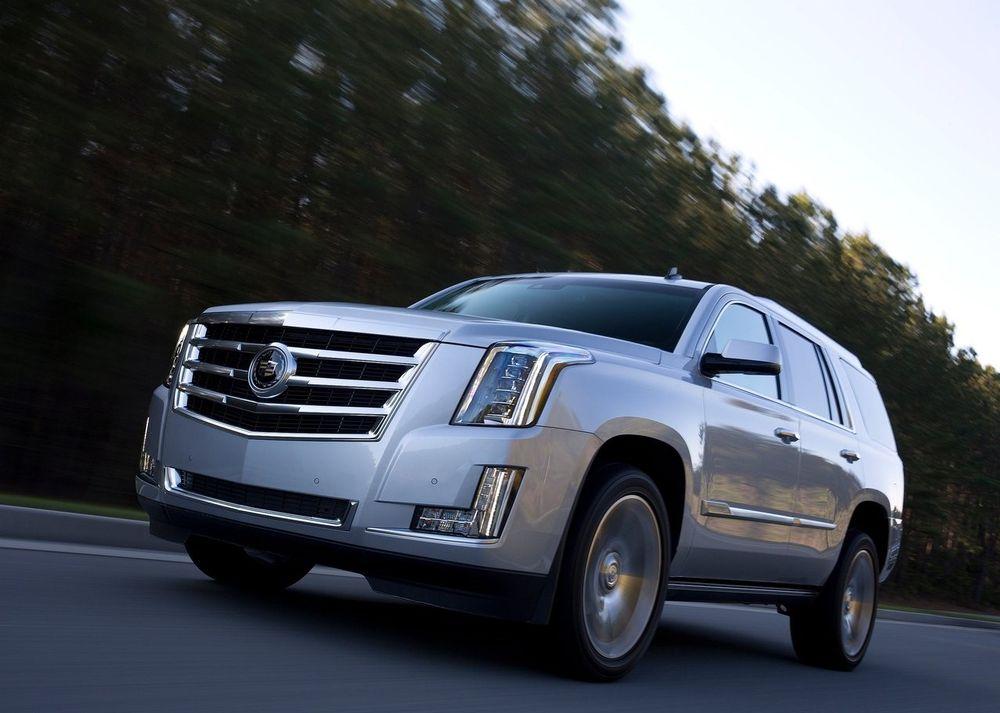 Cadillac Escalade Front