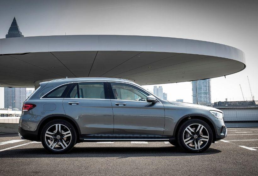 Mercedes Benz GLC exterior