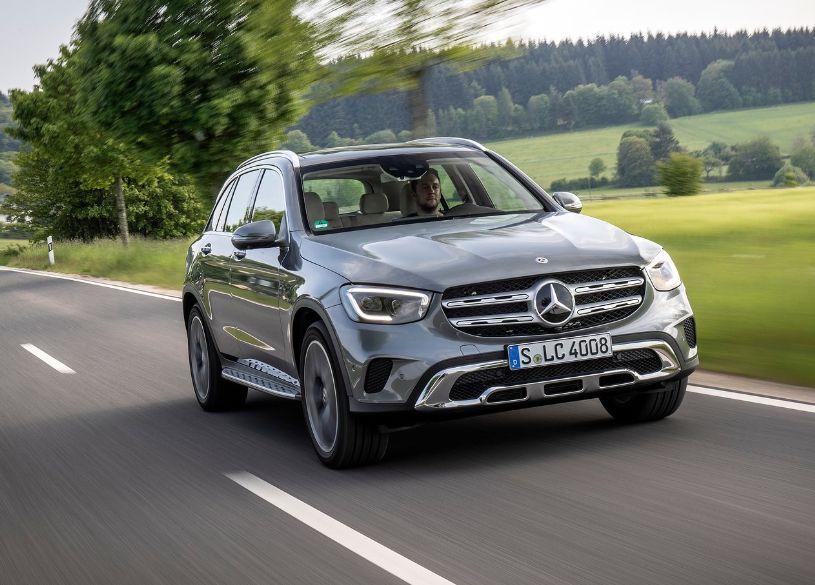 Mercedes Benz GLC engine