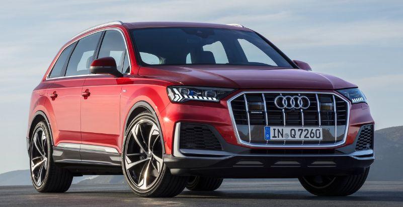 Audi Q7 exterior