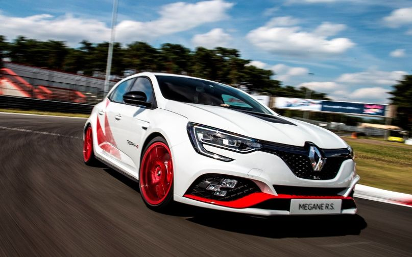 Renault Megane RS Trophy-R engine