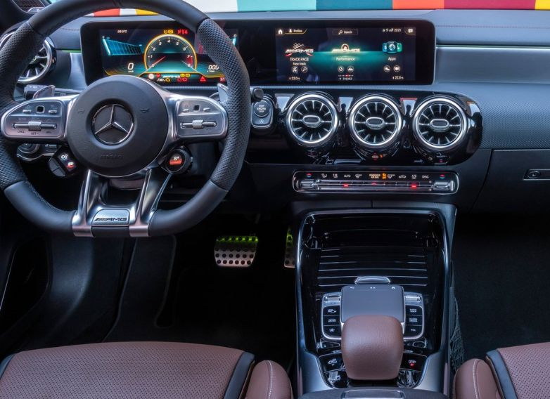 AMG A45 interior