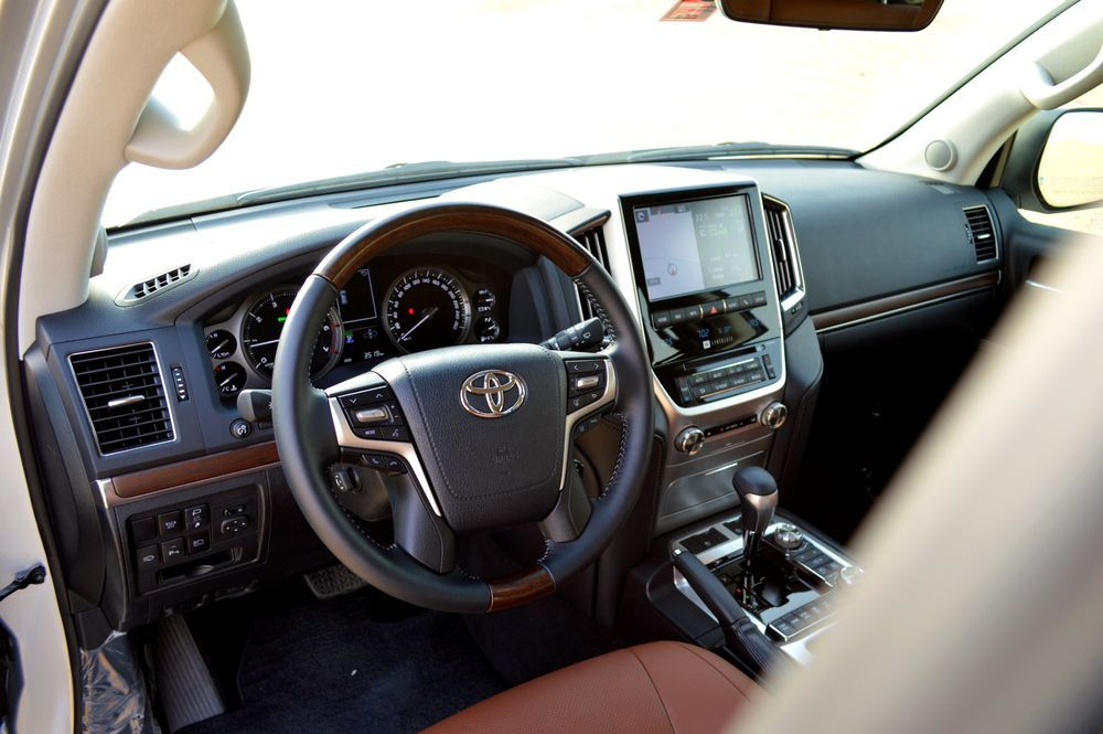 Toyota Land Cruiser interior