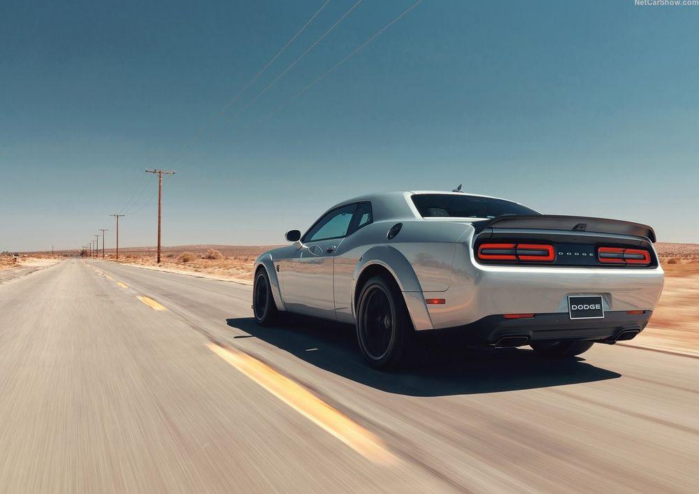 Dodge Challenger SRT Hellcat Redey
