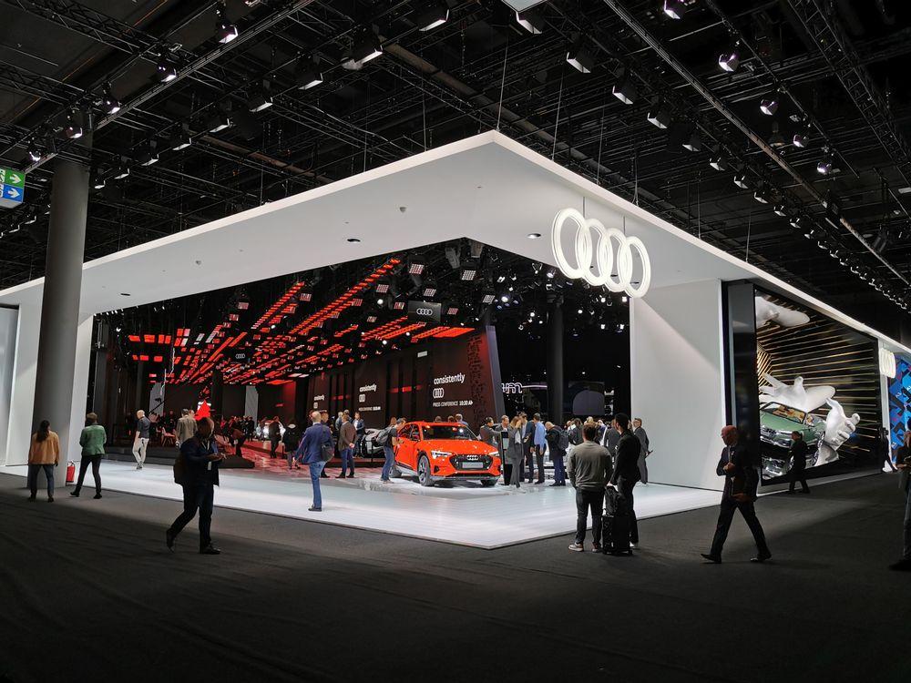 Audi stand Frankfurt Motor Show