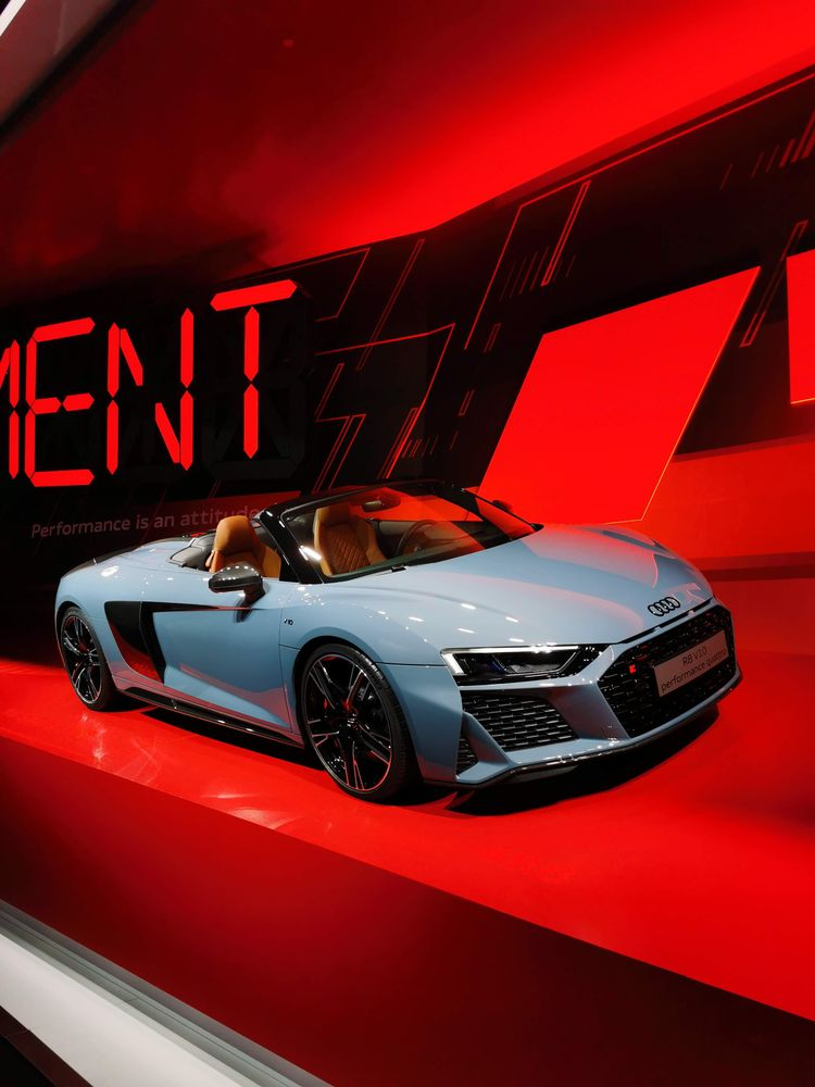 Audi at the 2019 Frankfurt Motor Show