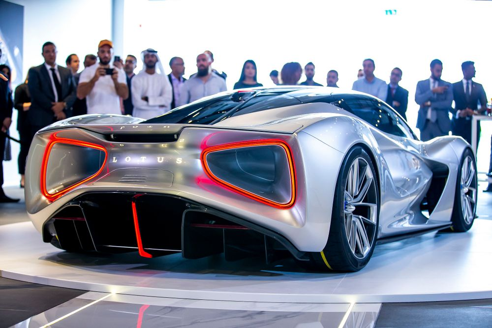 Lotus Evija Rear