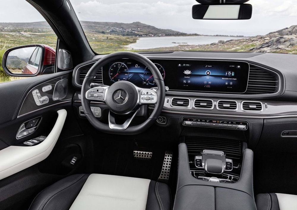 Mercedes Benz GLE Coupe Interior