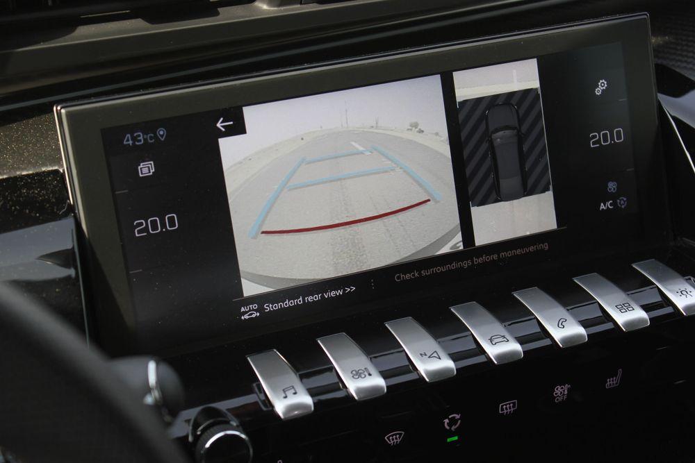 رؤية 360 درجة حول السيارة