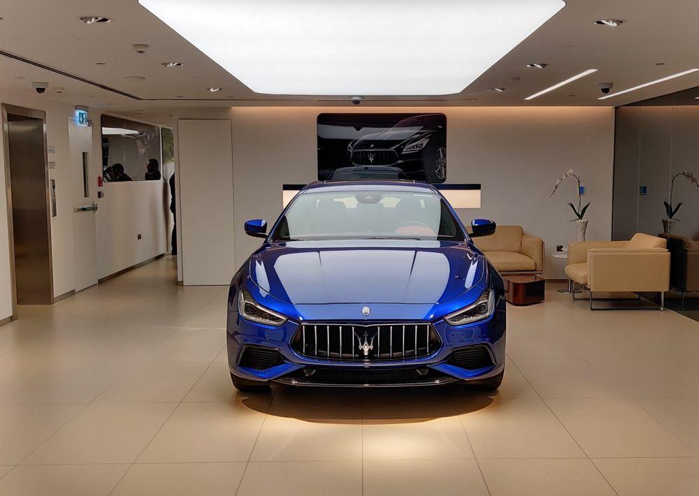 Maserati Delivery Area