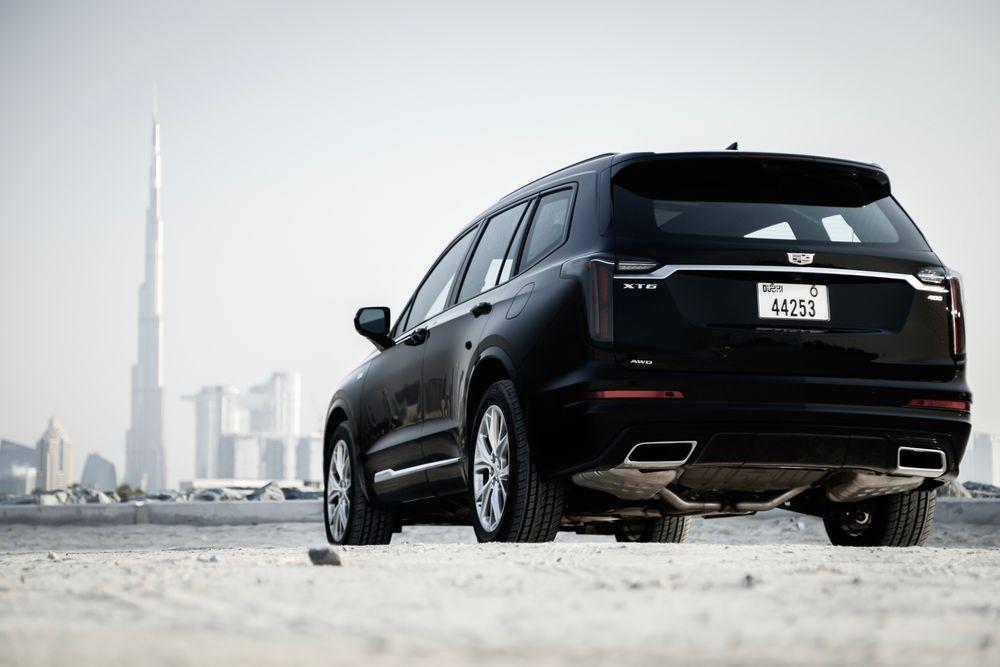 Cadillac XT6 Rear
