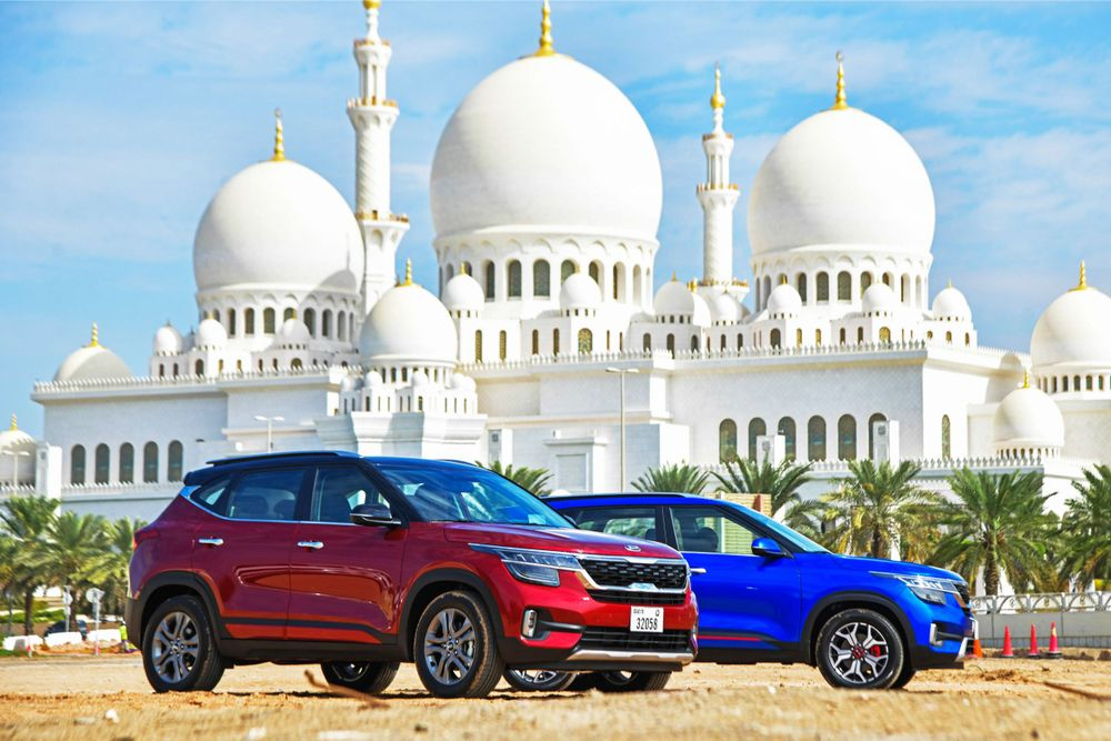 2020 Kia Seltos makes Middle East debut