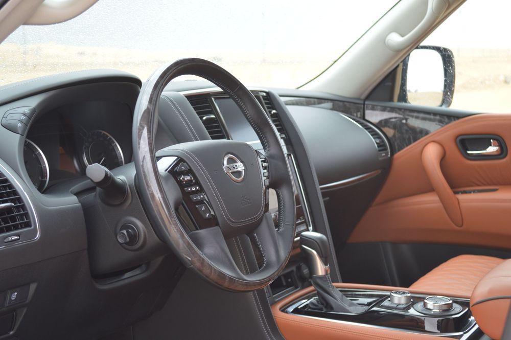 Nissan Patrol 2020 Interior