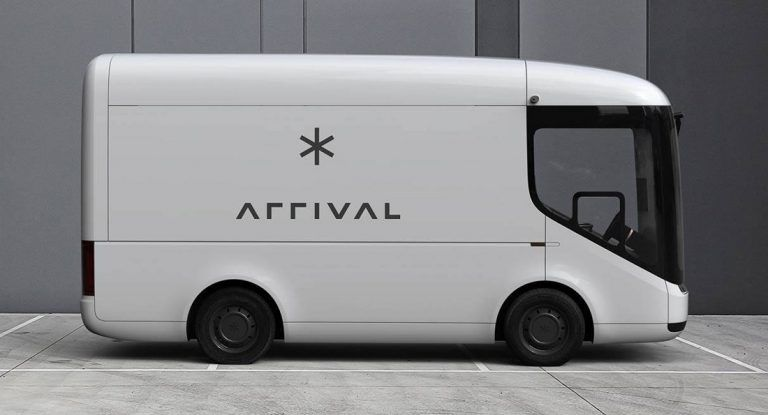 Arrival Van Side