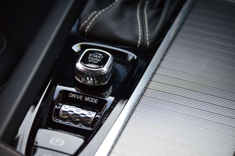 Volvo S60 Drive Mode Switch