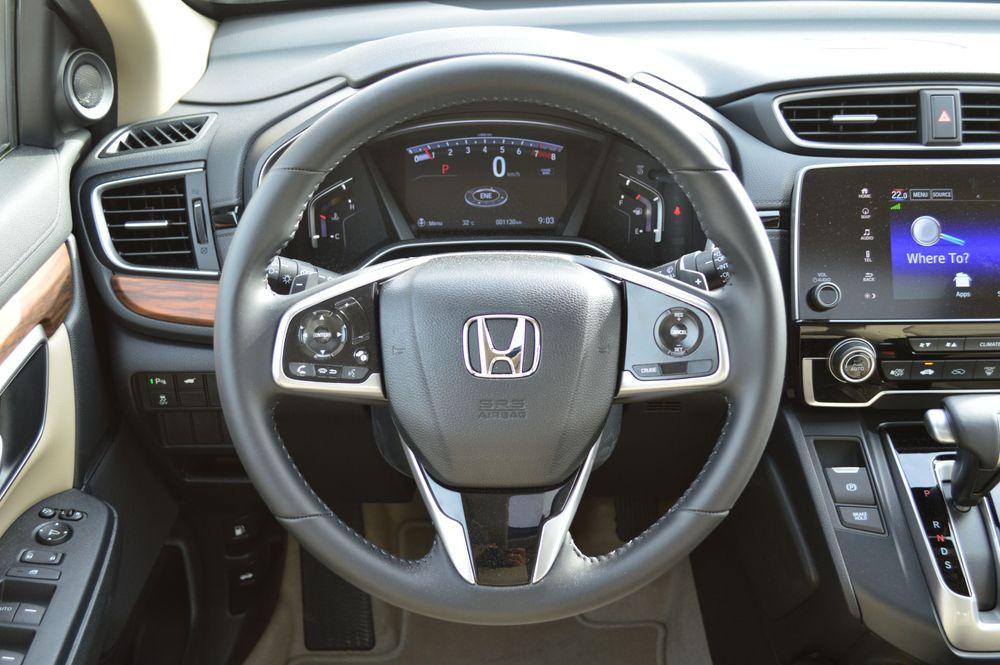 Honda CRV interior