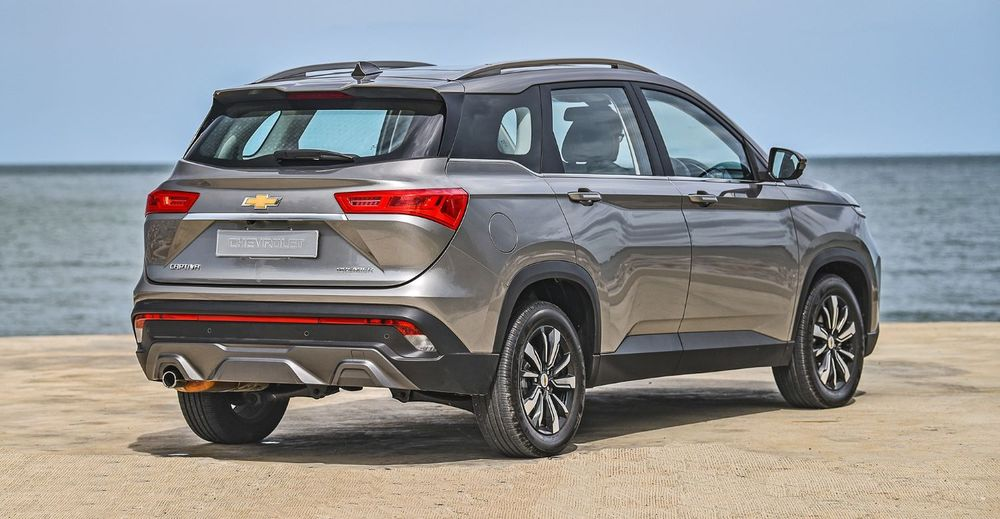 An Overview Of The 2020 Chevrolet Captiva Egypt Yallamotor