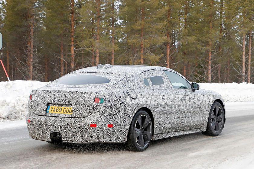 Jaguar XJ Electric Back