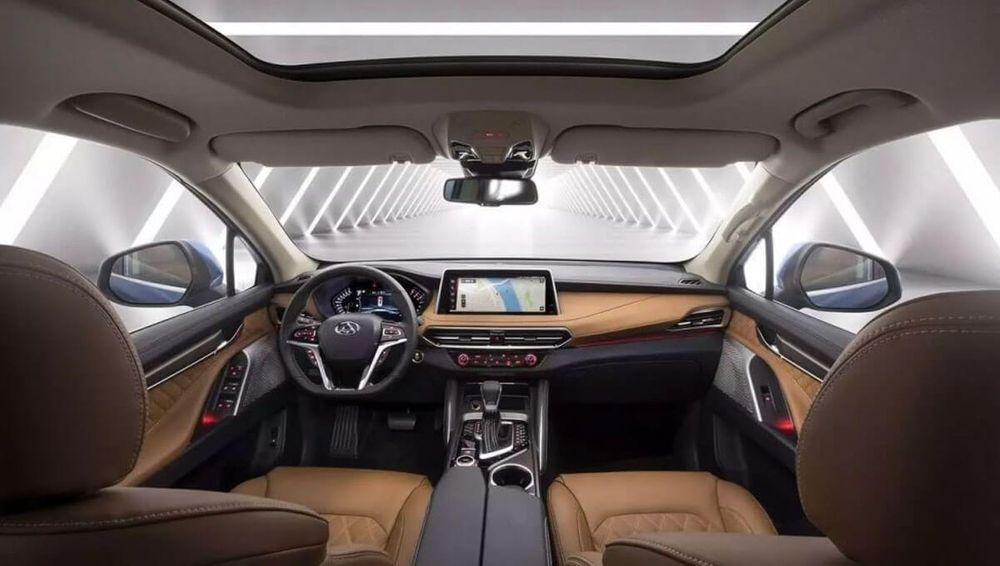 Maxus D90 Interior
