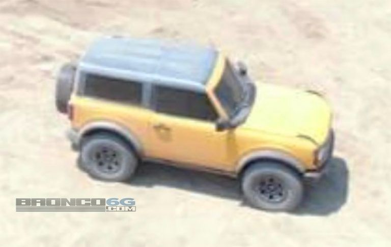Ford Bronco Caught Without Camouflage Before International Reveal