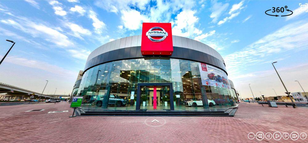 Nissan Showroom Virtual Dubai