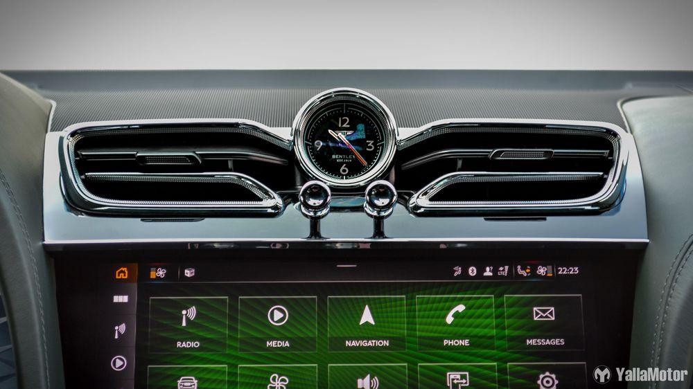 Bentley Analog Clock