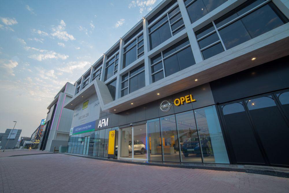 Opel Dubai Showroom