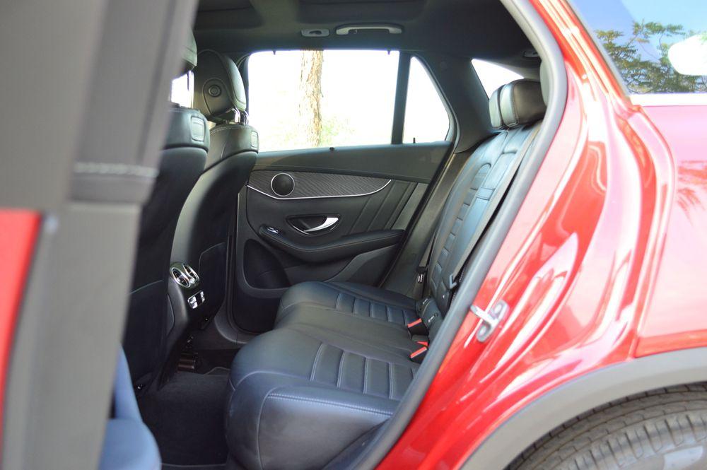 GLC 300 Back Seats