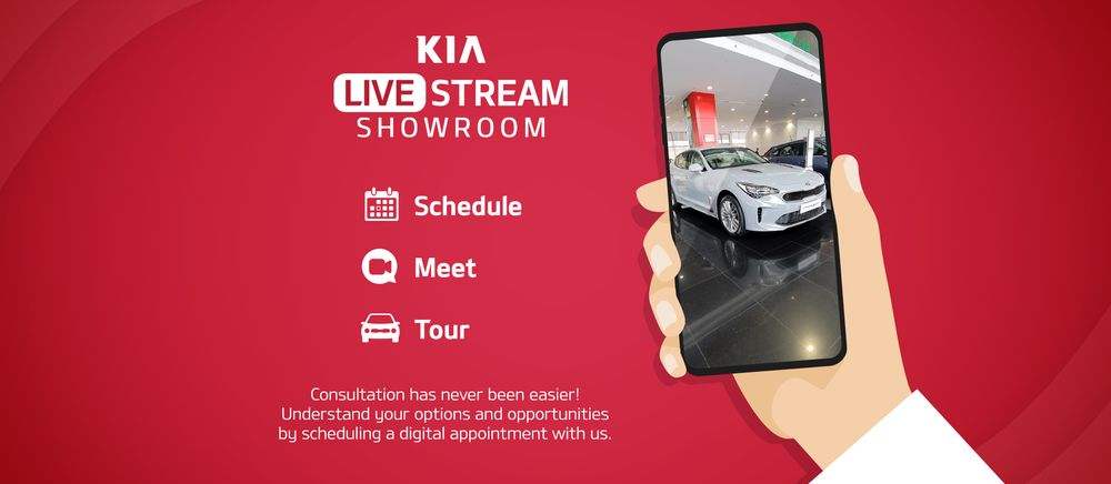 Kia Virtual Showroom Dubai