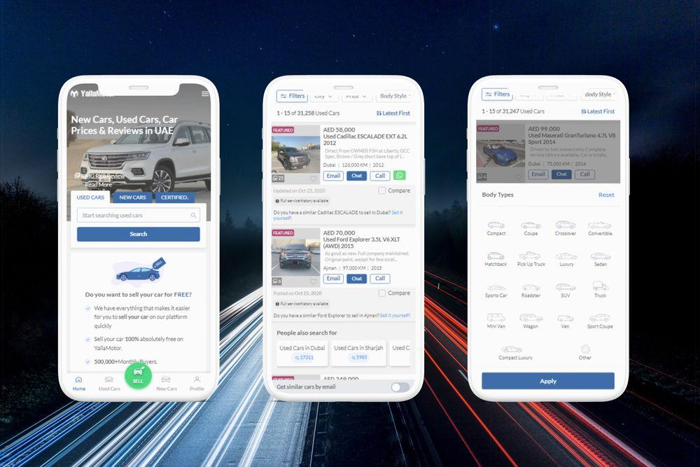 YallaMotor Mobile Revamp