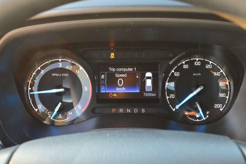 Ford Ranger XLS Interior